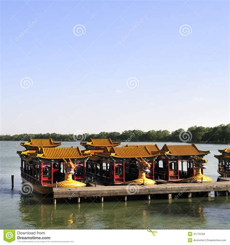 dragon boat dock chinese dragon boat stock photo image of gorgeous