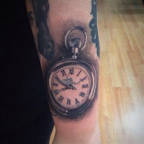 pocketwatch tattoo clock tattoos designs pictures page 21