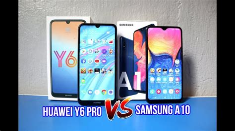 huawei vs samsung battery samsung a10 vs huawei y6 pro ml pubg battery heating comparison review