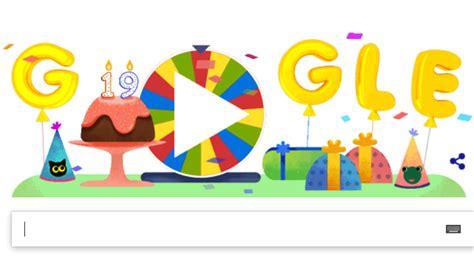 doodle nama novi slavi 19 rođendan i spremio je iznenađenja