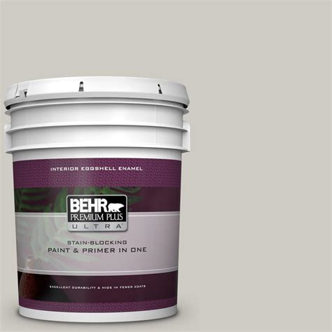behr premium plus ultra 5 gal bnc 05 ground fog eggshell