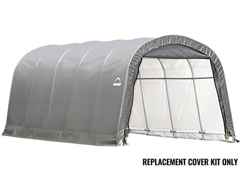 Shelterlogic Garage Replacement Covers by Replacement Cover Kit For The Garage In A Box Roundtop 174 12