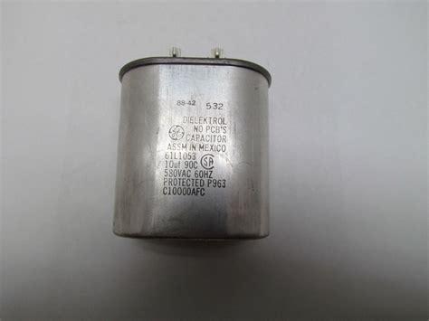 general electric capacitor 97f9002 ge capacitor with dielektrol 28 images ge genteq dielektrol vi capacitor 32uf 525vac 50 60hz