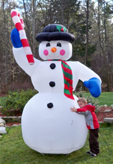 large blow up christmas decorations yolloy up snowman for sale