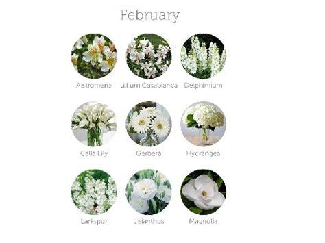 fiori febbraio decorazioni matrimonio i fiori giusti per il mese di
