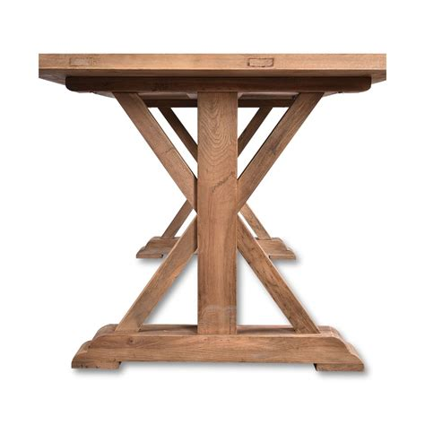 Reclaimed Elm Wood Dining Table Lemans Rustic Dining Table 200cm Reclaimed Elm Wood Farmhouse Wholesales Direct