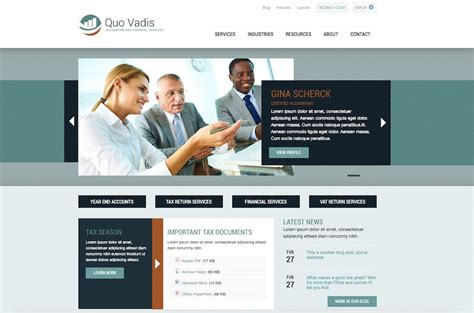 business web design homepage professional websites for service providers web design