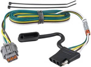 replacement oem tow package wiring harness with 4 flat for nissan tow ready custom fit vehicle