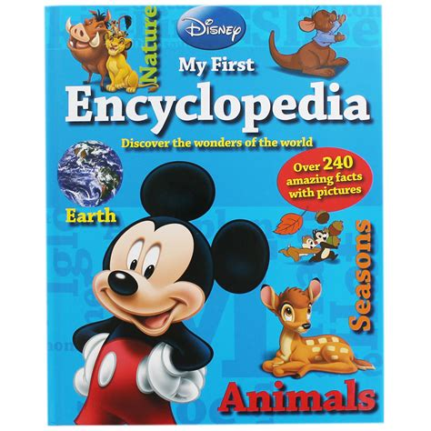 Disney Childrens Encyclopedia Great Lives Disney My Encyclopedia By Disney Children S