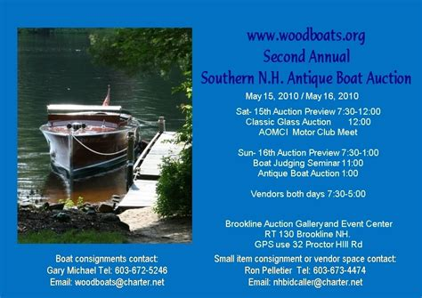 boat auction wolfeboro nh 2010 auction