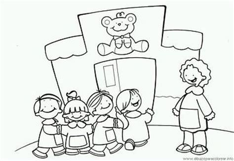 imagenes para colorear jardin de infantes dibujos del d 237 a de los jardines de infantes y las maestras