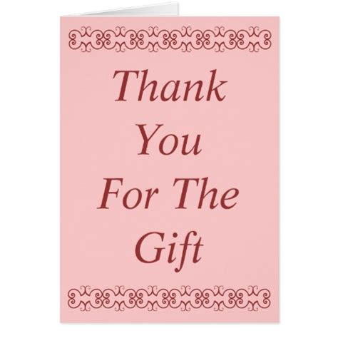 Thank You Card For A Gift - thank you card for gift 28 images thank you quotes quotesgram best 25 thank you
