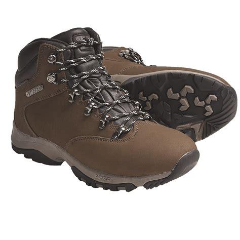 get to hi tec s high quality hiking boots glacier