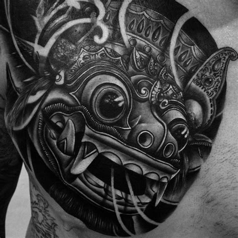 barong tattoos designs history amp meaning tattlas bali