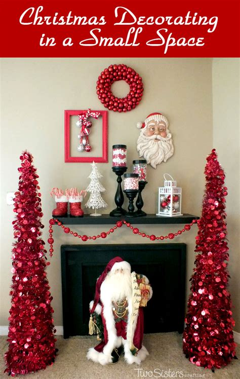 christmas decorations for a small apartment decorating in a small space two