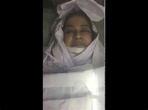 malayalam actress kalpana dead body malayalam actress kalpana dead body visuals from hospital