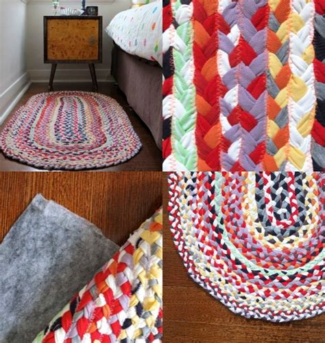 braided tshirt rug how to make braided rugs with t shirt