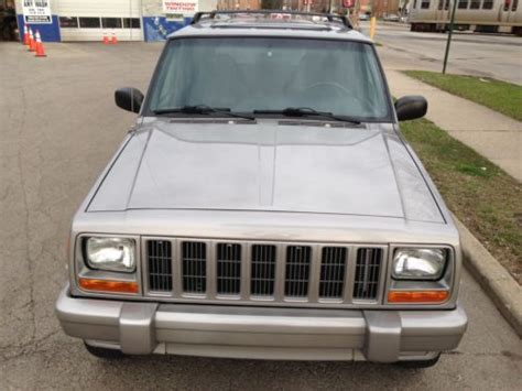 jeep cherokee xj sunroof purchase used 2001 jeep cherokee limited 4wd sunroof 60th