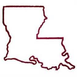 Louisiana Boot Outline by Outline Louisiana Clipart Clipart Suggest