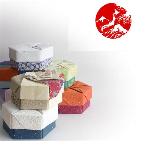 Origami Supplies Uk - decorative hexagonal origami gift boxes flickr photo