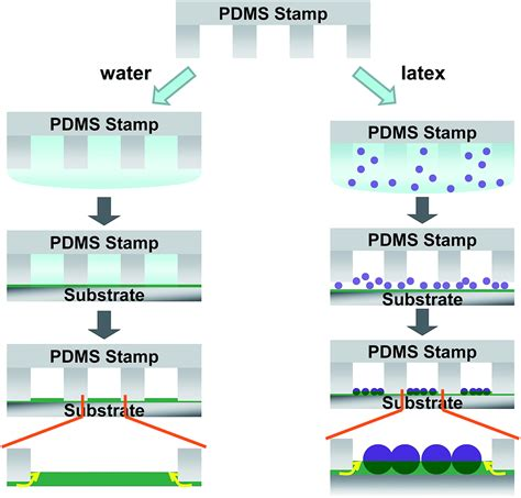 pattern formation by dewetting of polymer thin film facile formation of nanoparticle patterns by water induced