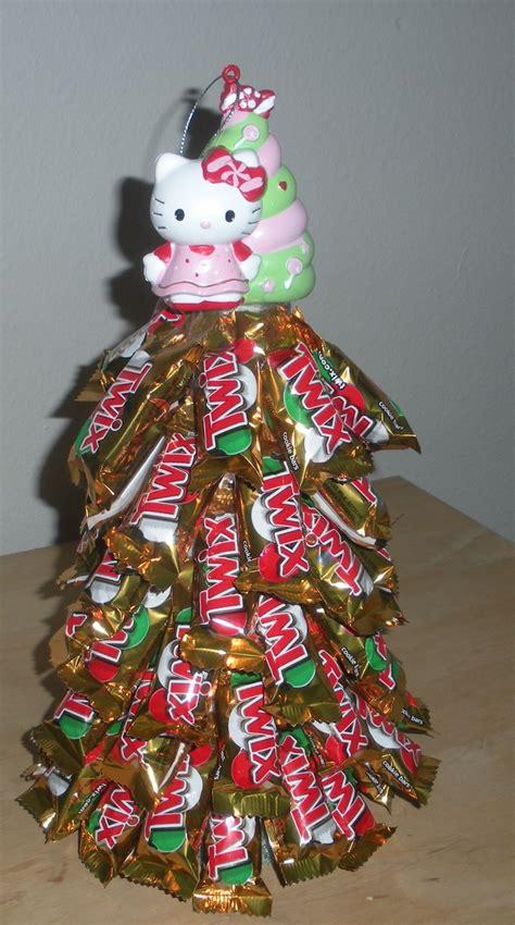hello kitty twix mas tree made for a secret santa gift