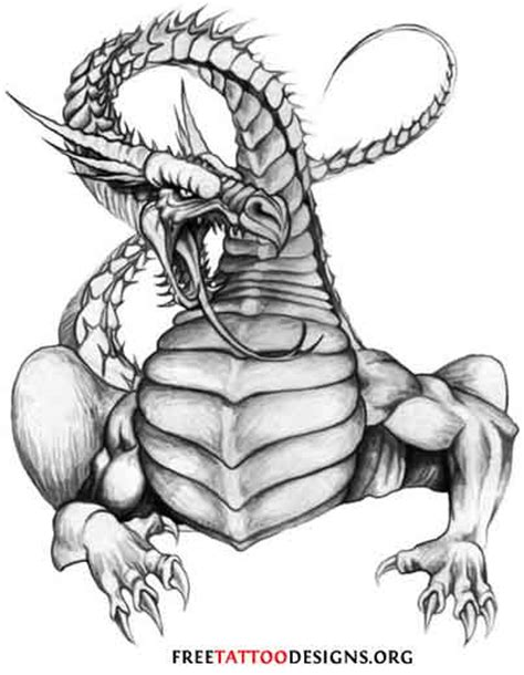 gothic dragon tattoo designs pics for gt