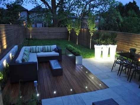 backyard landscape lighting ideas modern patio design led deck lighting ideas outdoor deck