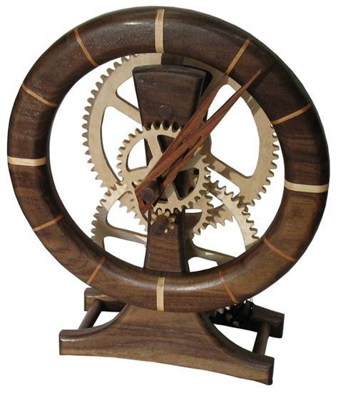wooden gear clock plans  upbeatfcj