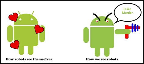 Android Vs Robot by Eat24 Iphone Users Healthier Than Android Eat24