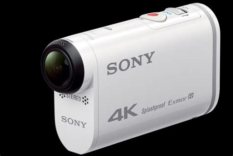Gopro Sony sony announce 4k competitor to gopro the fdr x1000v