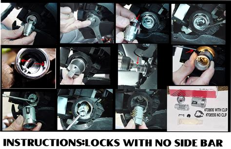 lock breaker tool ford 8 wafer ignition removal sidebar breaker tool kit