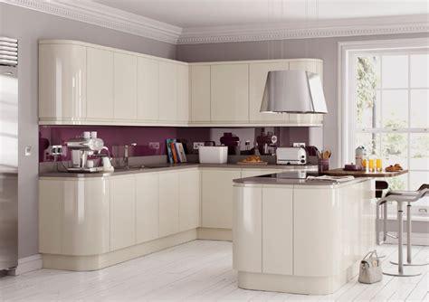 replacement kitchen cabinet doors high gloss walnut ebay high gloss cream handleless replacement kitchen doors and