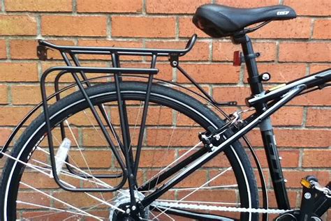 Pannier Rack by Rear Pannier Racks For Chainstays And Heel Clearance Cyclingabout