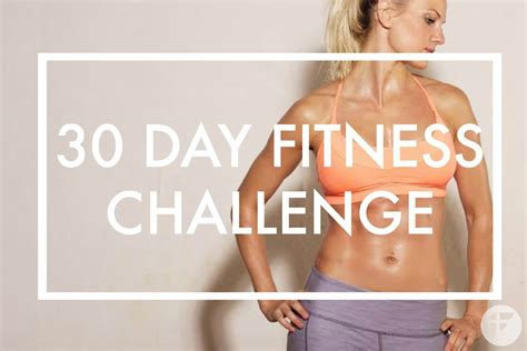 30 day fitness challenges for 30 day fitness challenge transform your in 30 days