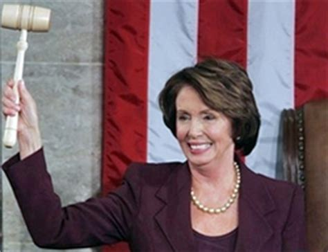 Nancy Pelosi Rocks With A Gavel Indeed by Halfway There January 2007