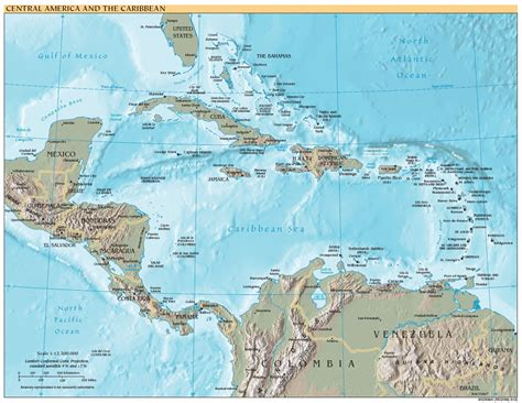 america map high resolution free high resolution map of central america