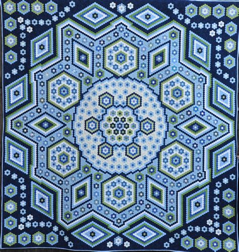 pattern là gì the vignette hexagon quilt