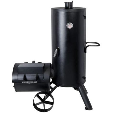 brinkmann trailmaster vertical smoker 855 6303 sb the