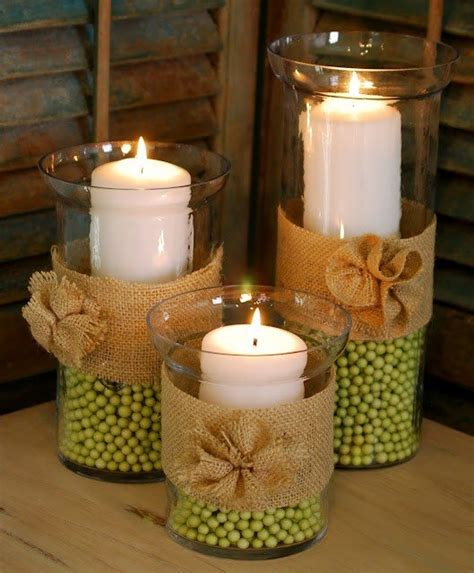 Candle Decor Diy Home Decor With Crafts