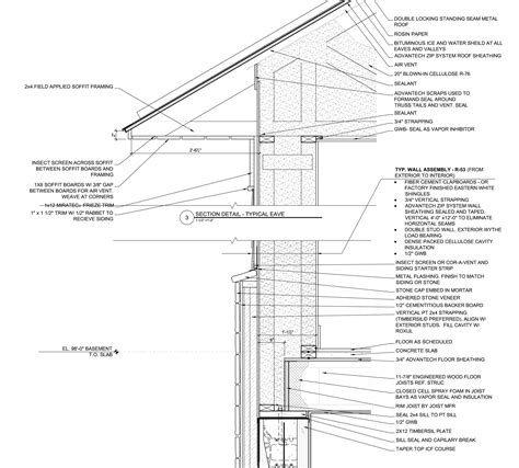 house wall section plans and pricing for our house in maine