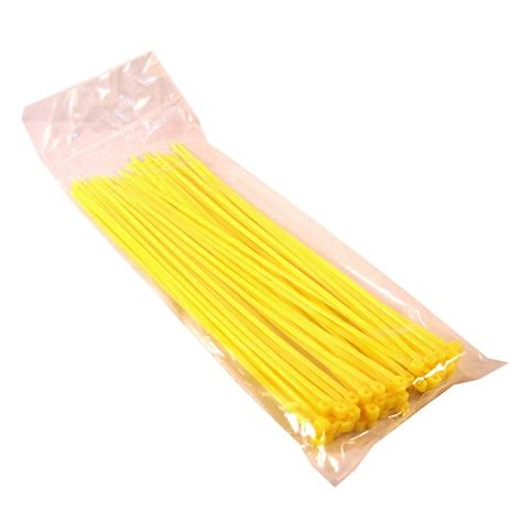 Cable Tie 25 Cm cable ties 20cm yellow 2 5mm 50pcs digiware store