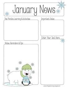 kindergarten classroom newsletter template best 25 preschool newsletter ideas on