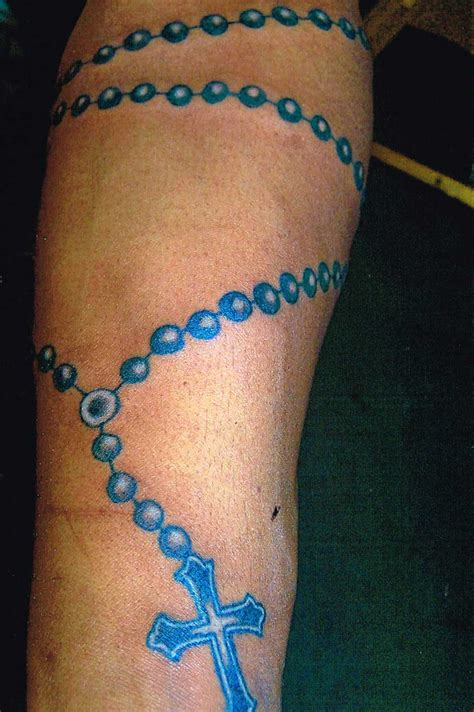 rosary tattoo forearm rosary tattoos designs ideas and meaning tattoos for you