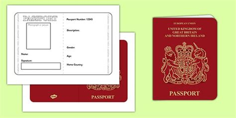 1000 ideas about passport template on pinterest road