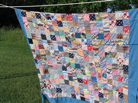 Amish Quilt Tops For Sale by Homespun Living An Amish Quilt Top Flea Market Treasure