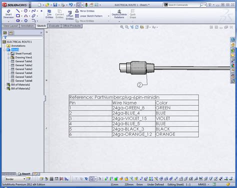 design table solidworks solidworks routing putting power into your designs