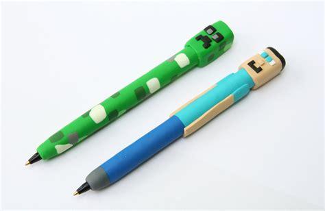 Minecraft novelty pen Steve Creeper education teacher gift