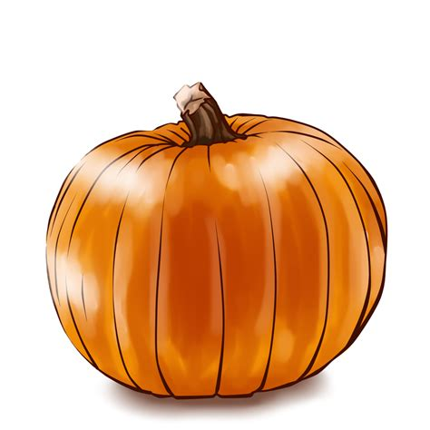 pumpkin clip just a pumpkin by azuhra on deviantart