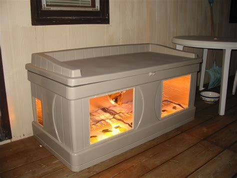 insulated cat house heated cat house plans woodworking in my mind